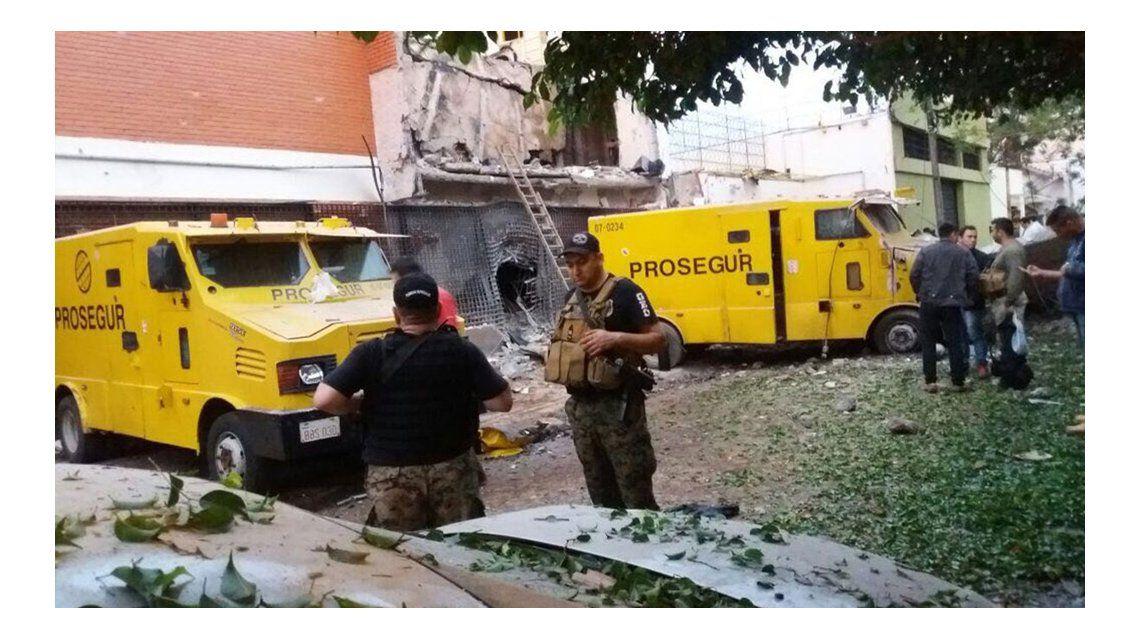 Ciudad del Este: los impactantes videos del asalto comando