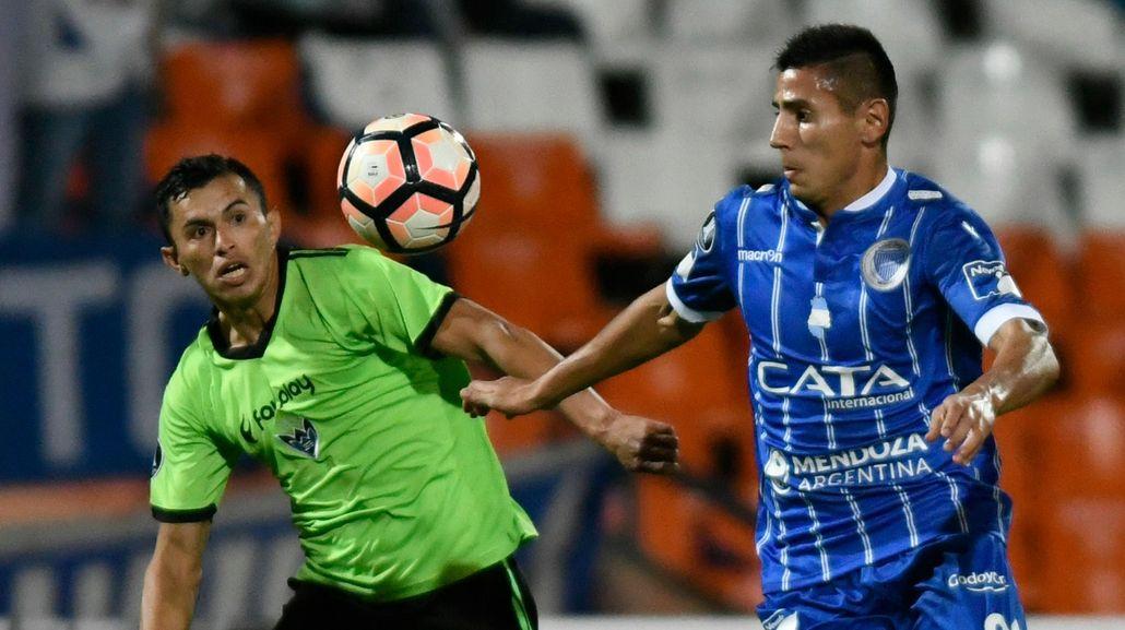 Godoy Cruz le ganó a Sport Club en Mendoza y se consolidó en la Copa Libertadores