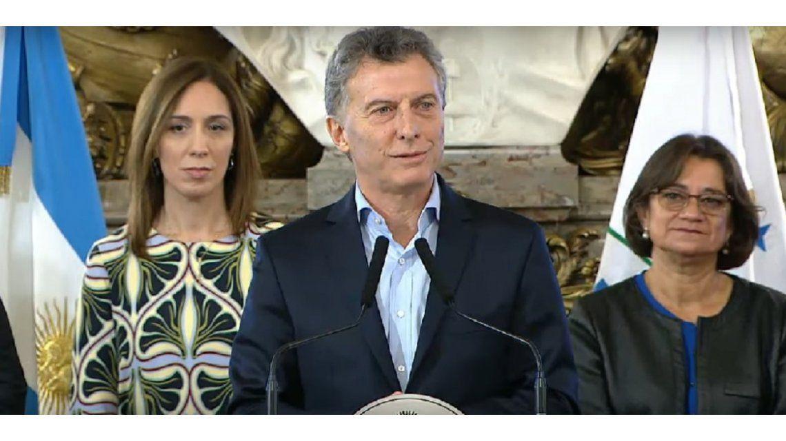 Macri firmó con gobernadores un Compromiso por la Modernización del Estado