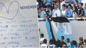 Con una carta, una nena pidió por un fútbol sin violencia