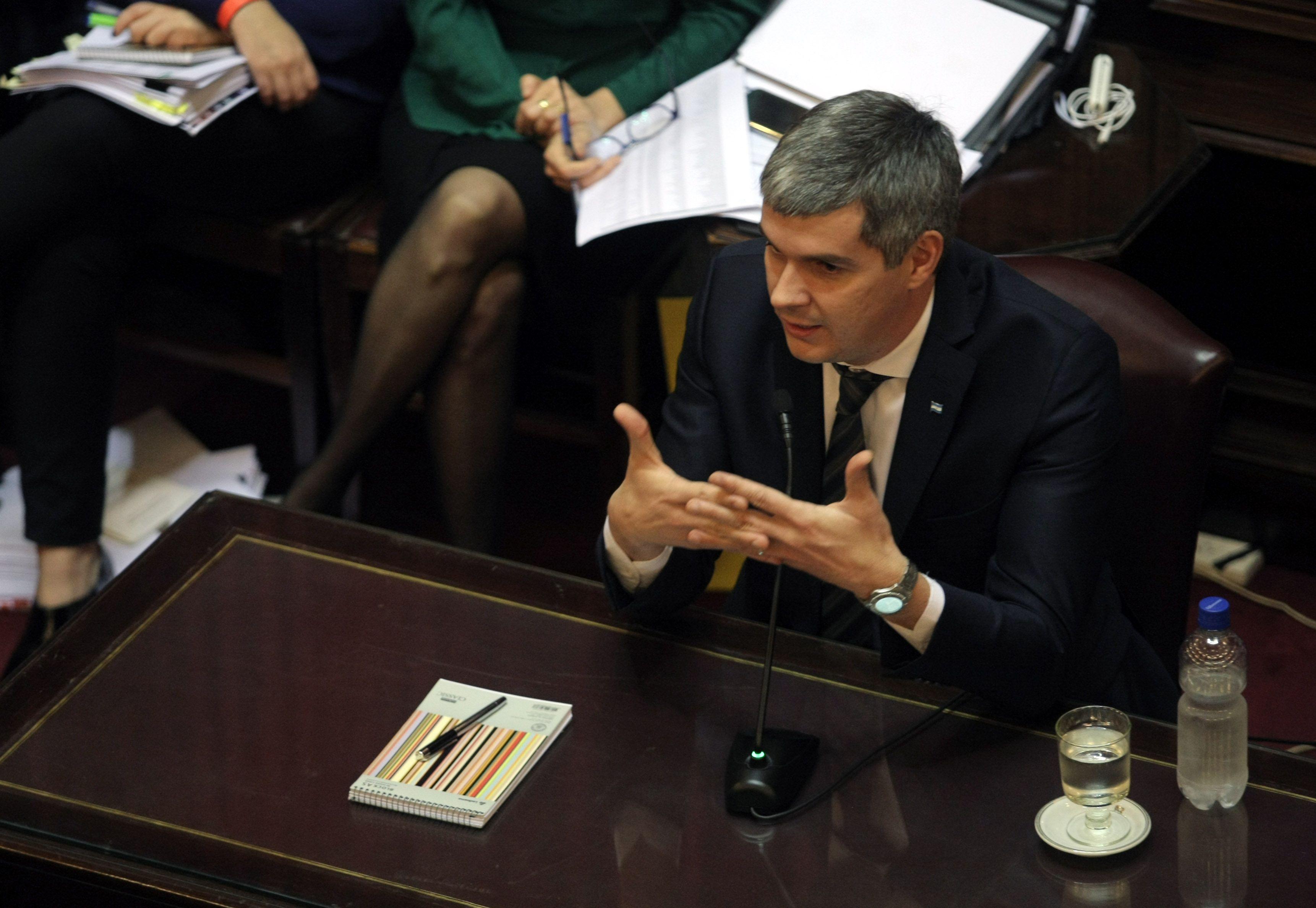 Marcos Peña presentará un informe en el Senado sobre la gestión del Gobierno