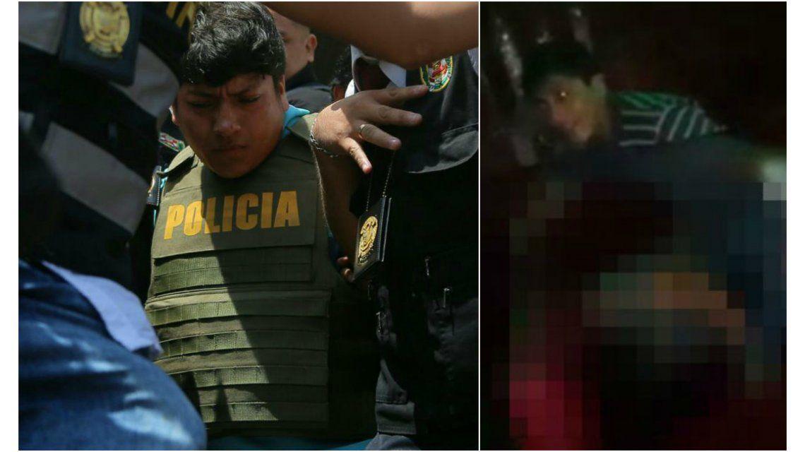 Perú: se entregó y confesó el violador que aparecía en un video que se viralizó