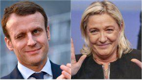 Macron y Le Pen, los favoritos