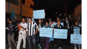Macha por la muerte de Emanuel Balbo, hincha de Belgrano