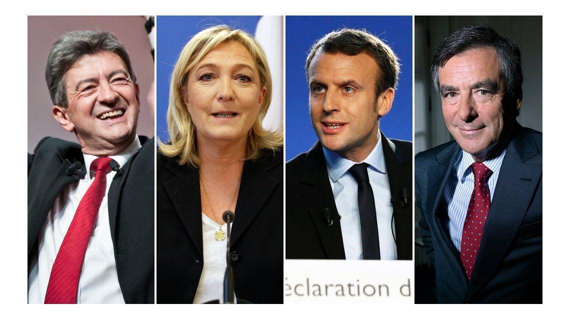 De izquierda a la ultraderecha, ¿quién es quién en las elecciones de Francia?