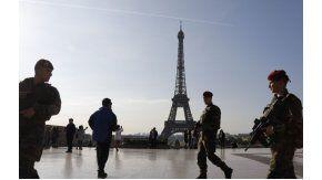 La primera vuelca electoral se vivió con temor en París