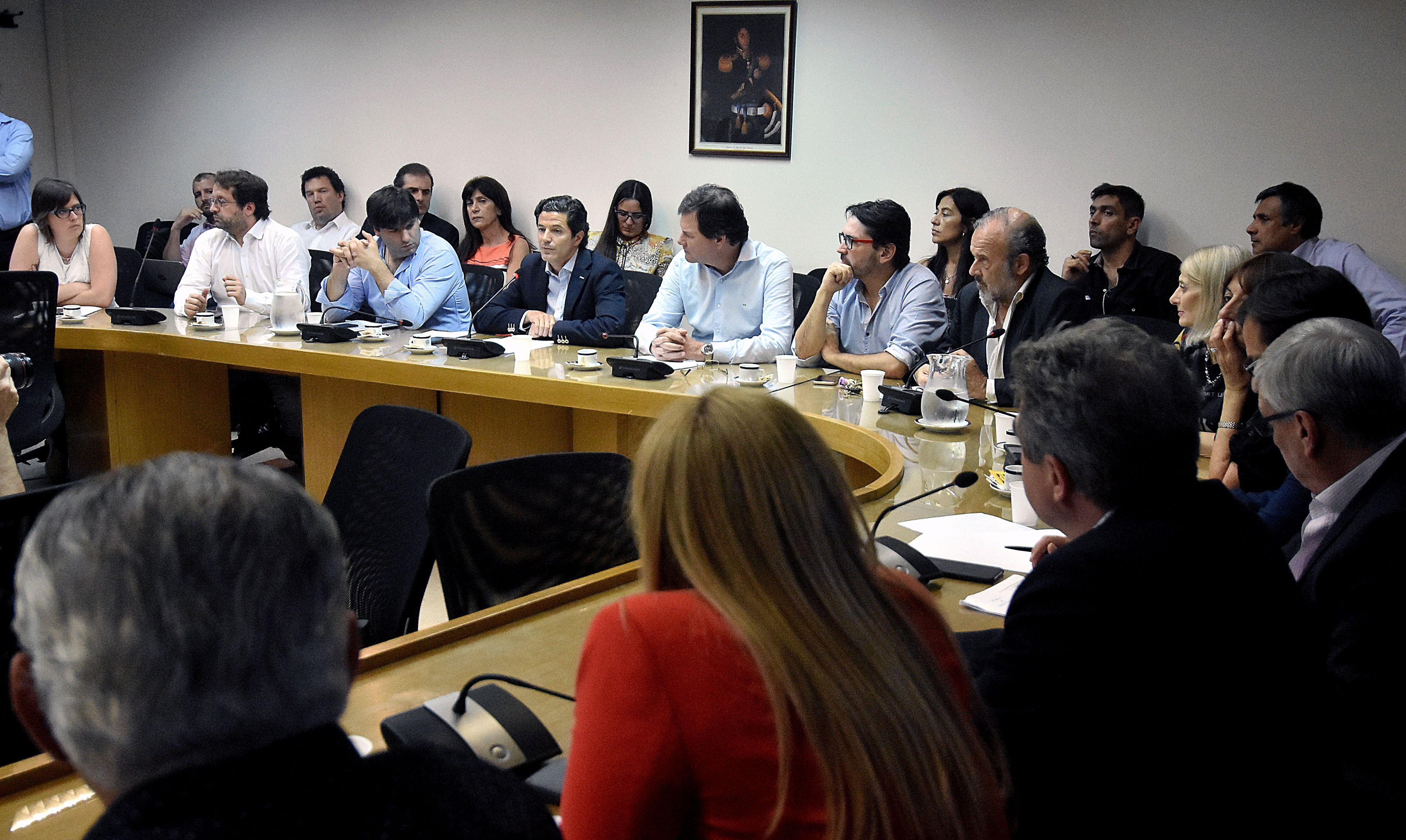 Foto archivo. Reunión de la comisión de Presupuesto de Diputados. Diciembre 2016.
