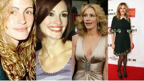 Los peinados de Julia Roberts a lo largo de los años