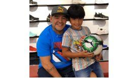 Qué esconde la foto de Maradona con Benjamín en Dubai