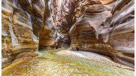 El increíble Cañón de Wadi Mujib