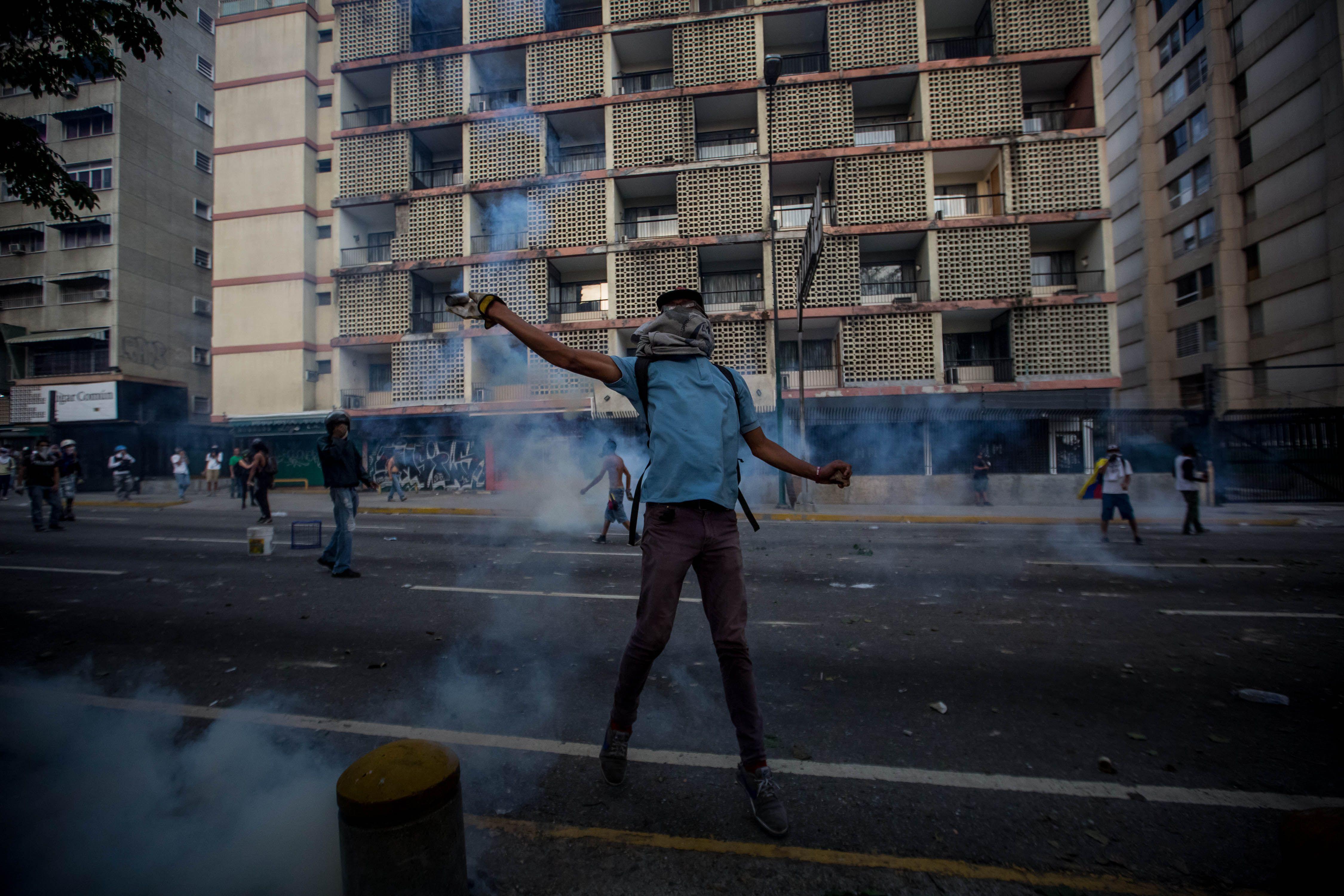 Las calles de Venezuela se bañaron de sangre durante las protestas