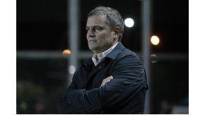Diego Aguirre, técnico de San Lorenzo de Almagro