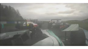 Billy Monger chocó en la Fórmula 4