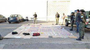 Tres detenidos con más de 11 mil dosis de cocaína - Crédito:online-911.com