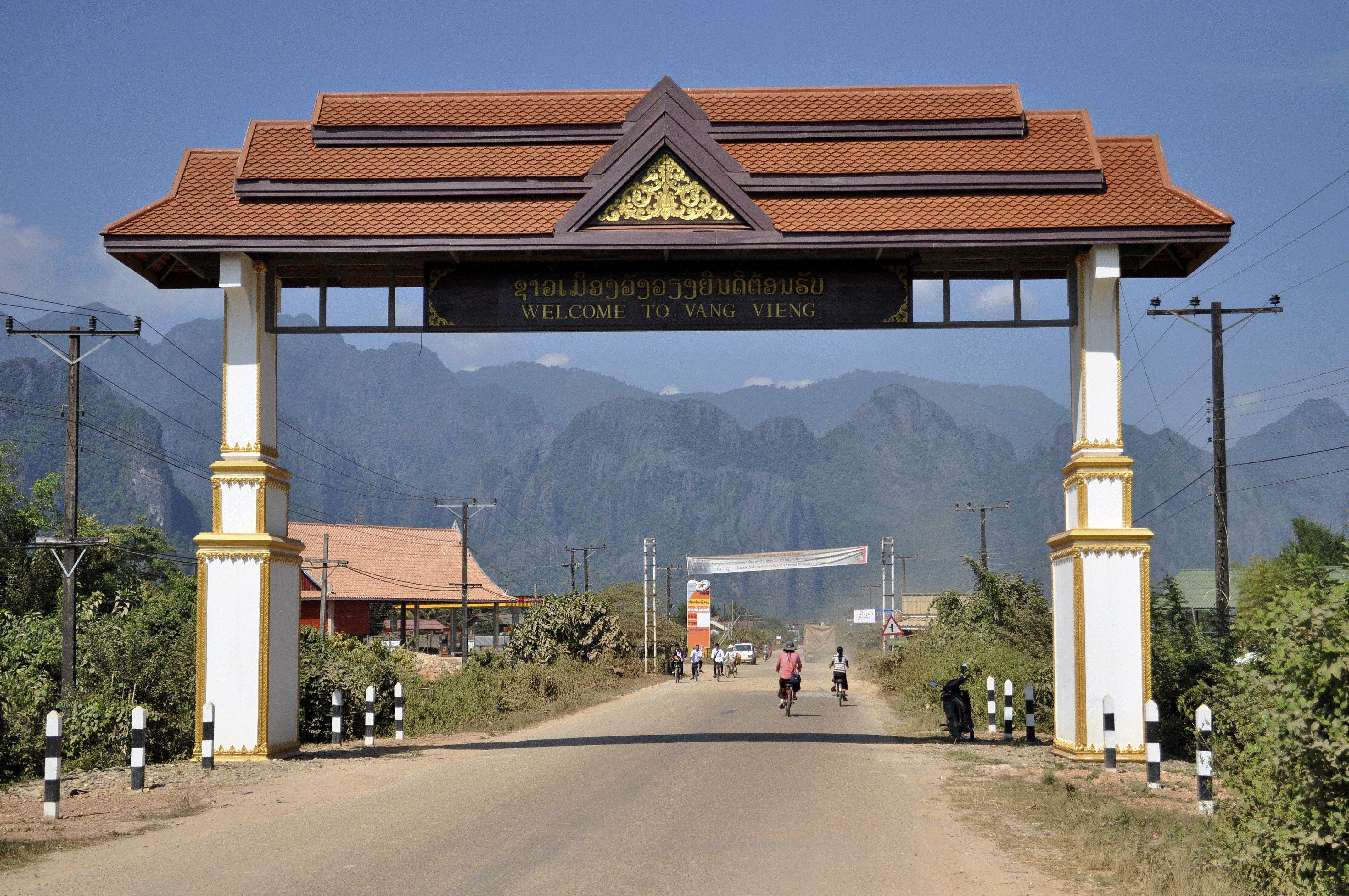Vang Vieng volvió a ser una atracción turística de Laos