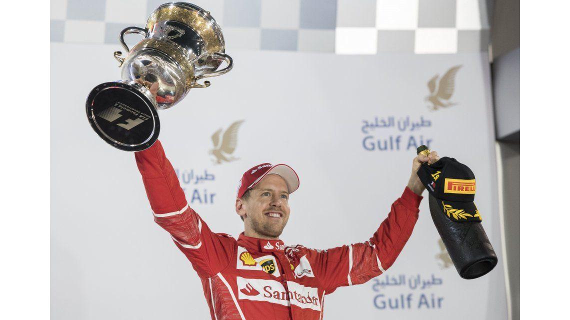 Vettel es el puntero del campeonato mundial de Fórmula 1