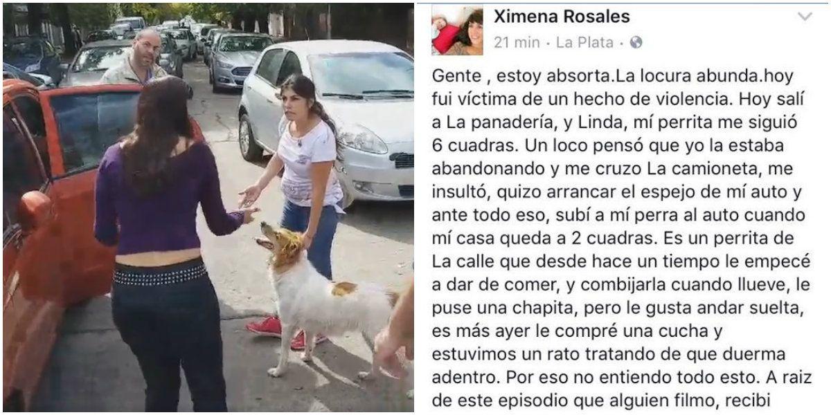 El descargo en Facebook de la mujer acusada de abandonar a su perra