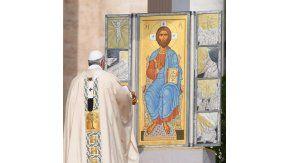 El Papa celebró una nueva misa de Pascua