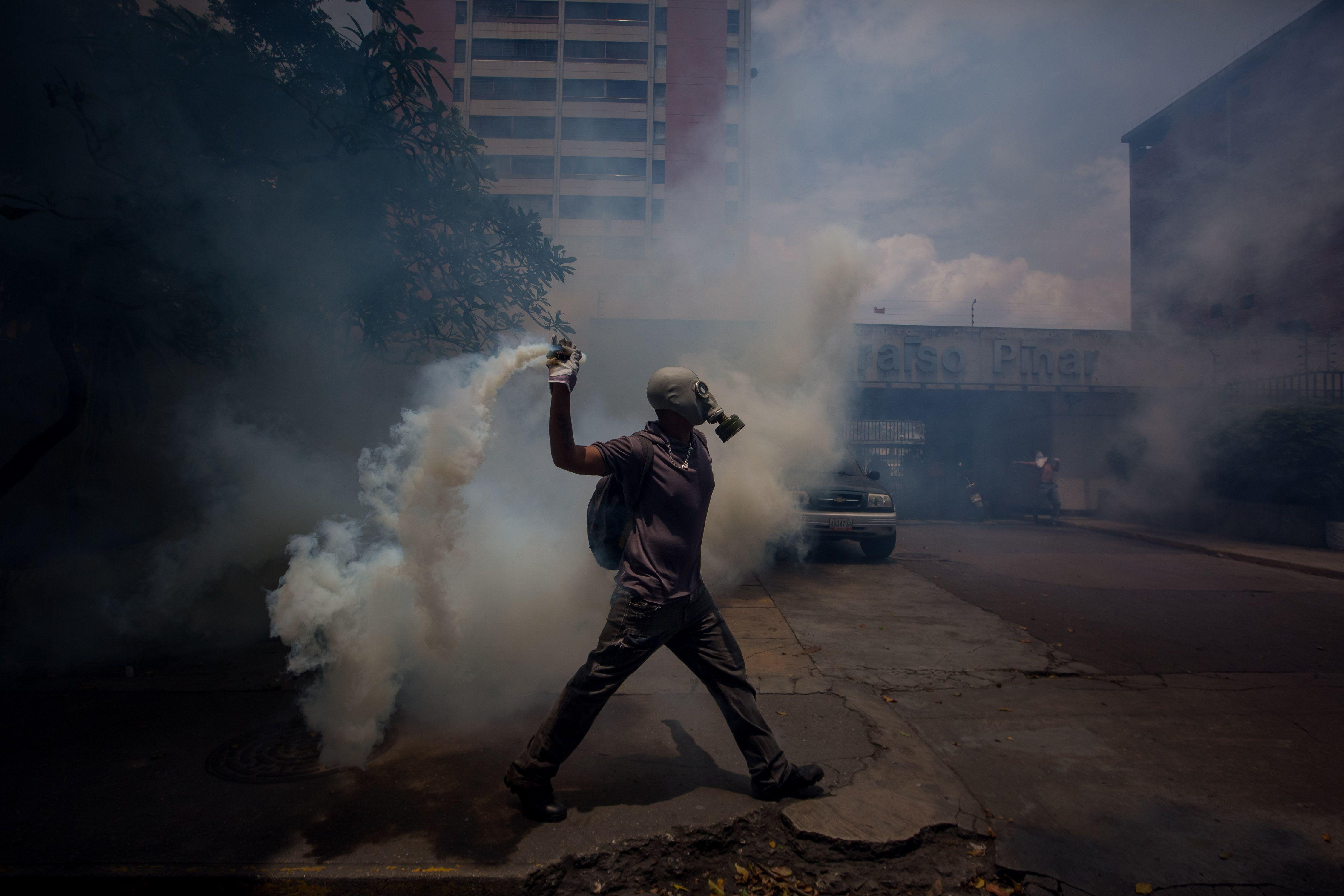 Los venezolanos salieron a la calle contra Maduro