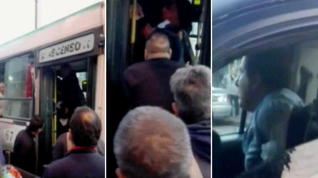 VIDEO: Linchan a un hombre que habría manoseado a una joven en el colectivo