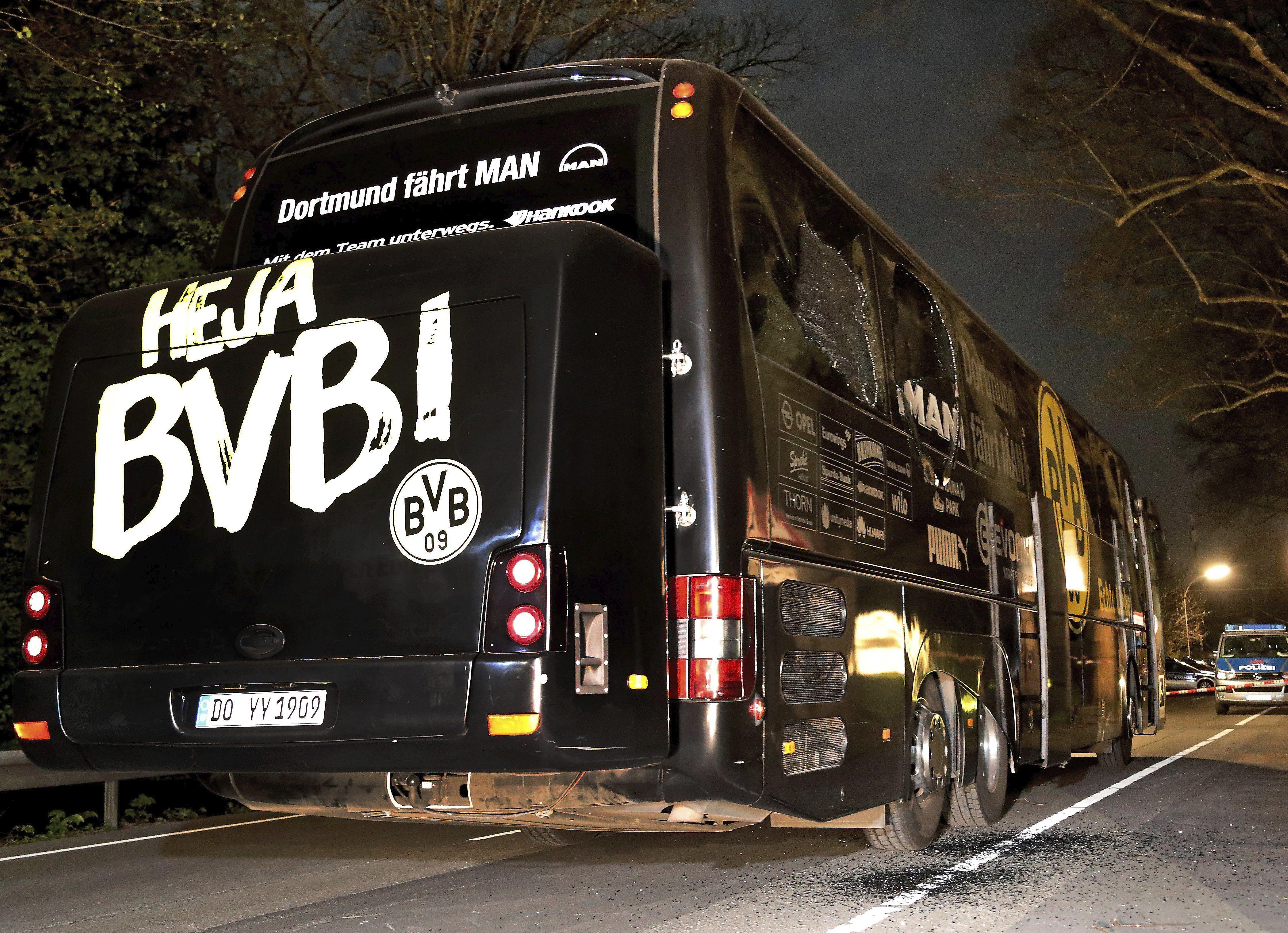 Detienen a un sospechoso por el atentado al Borussia Dortmund