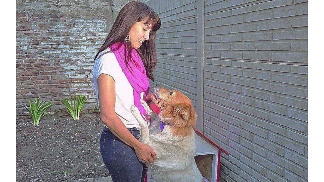 La mujer acusada de abandonar una perra en La Plata vive una pesadilla. Foto gentileza El Día