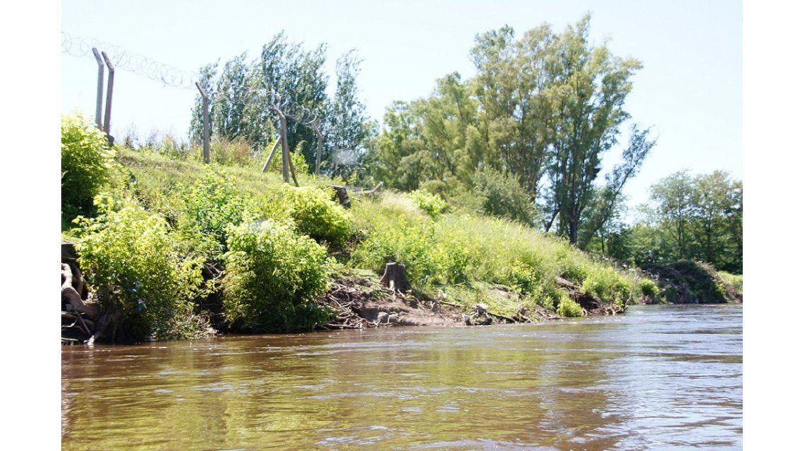 Hallaron un cuerpo en el río Luján