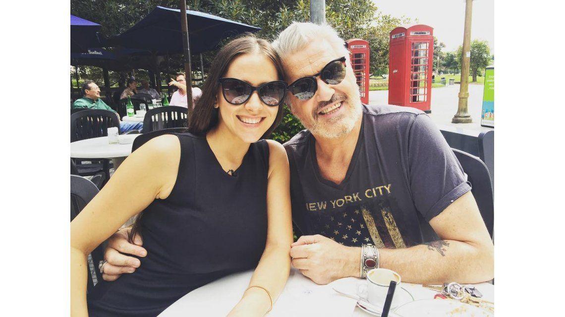 Roberto Pettinato y Julieta Camaño