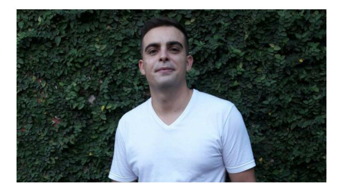 Luciano tiene 25 años y está desaparecido desde el 1 de abril
