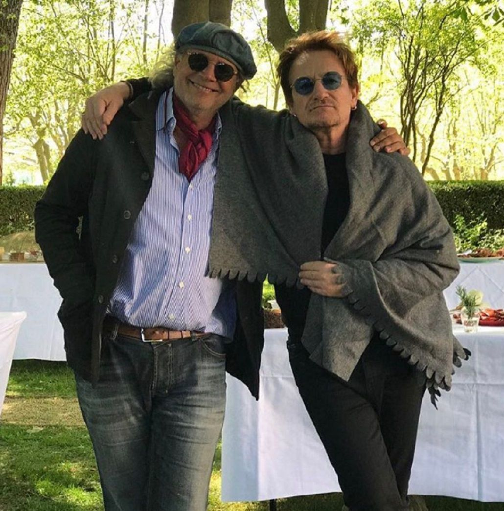 Francis Mallmann con Bono
