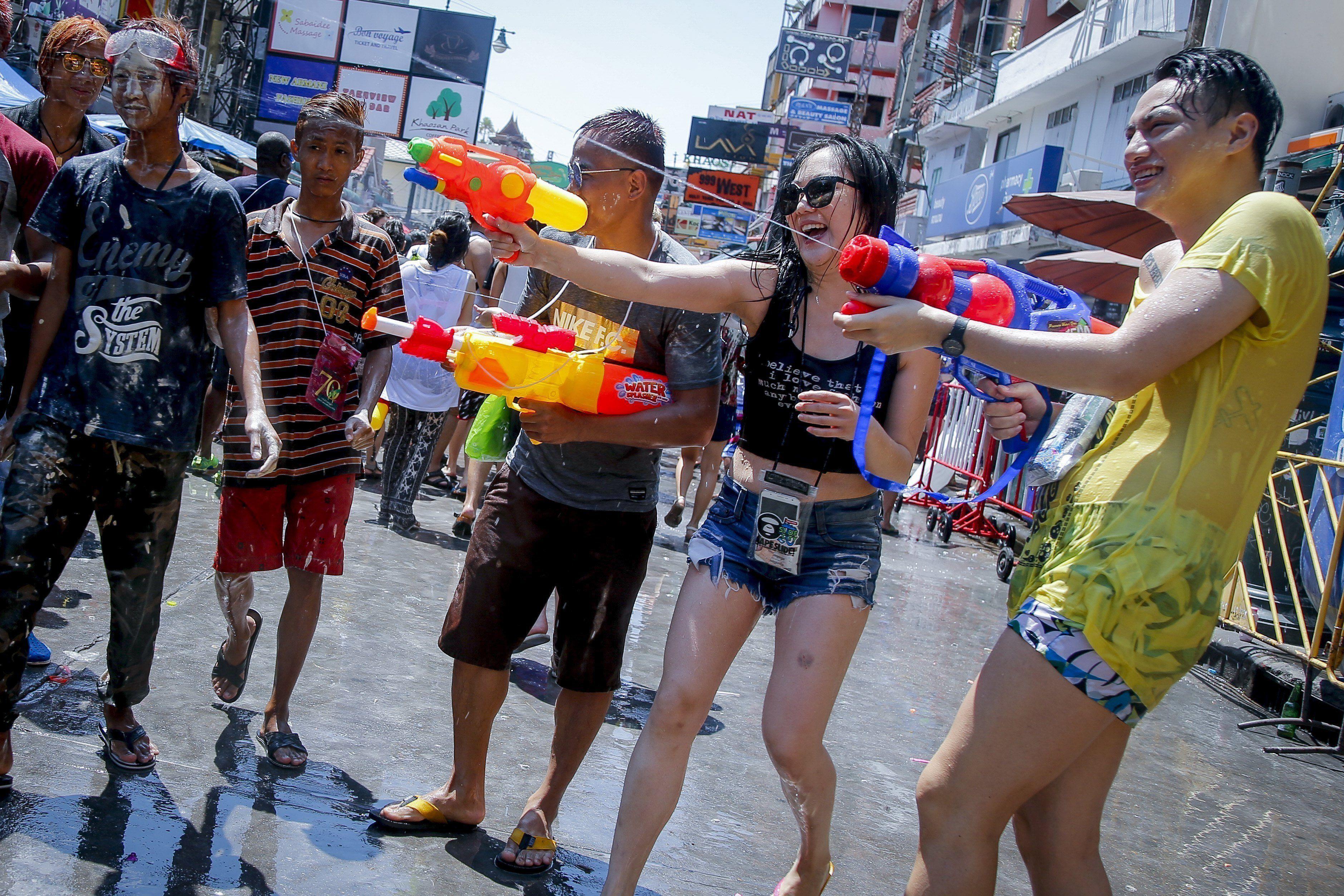 Los festejos del Songkran en Tailandia