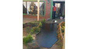 El derrame de petróleo en una casa ya fue controlado