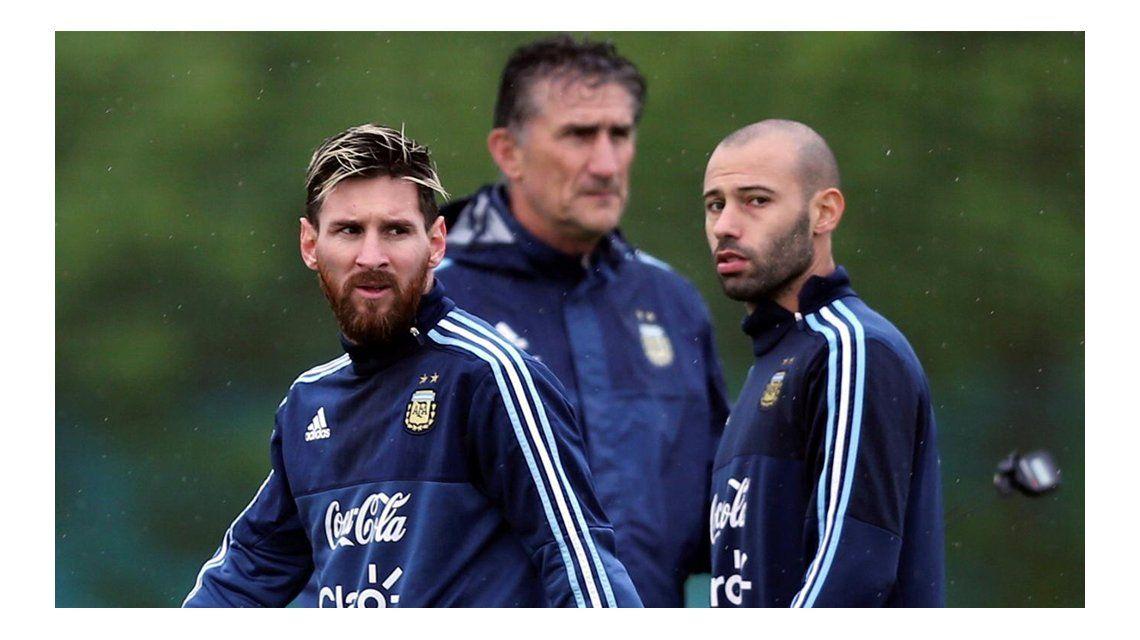 Bauza: A Messi le dejé un mensaje y no contestó