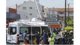 Una avioneta se estrelló en la ciudad de Tires, Portugal