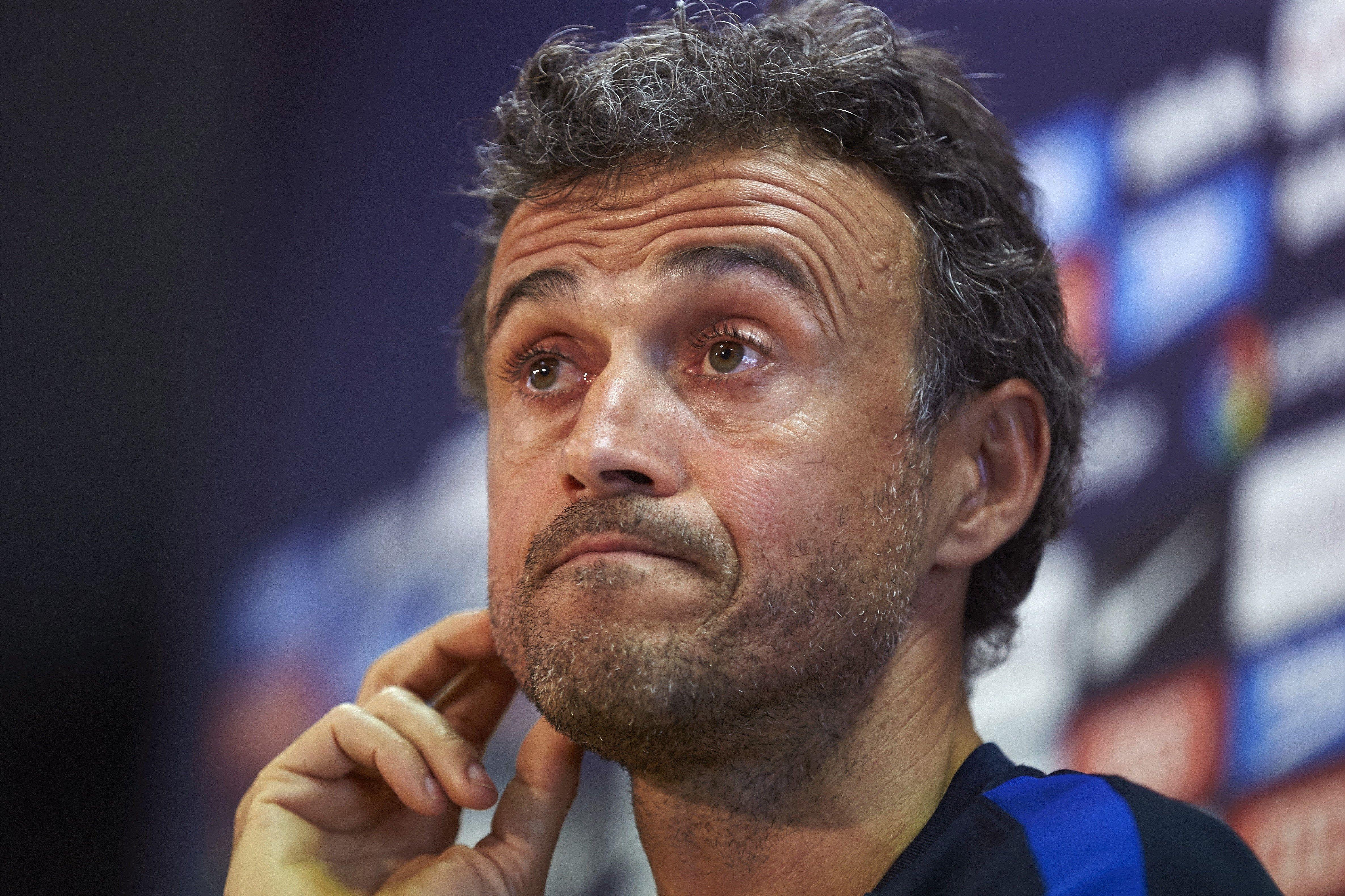 Explotó el vestuario del Barcelona: ¿a qué jugadores culpa Luis Enrique?