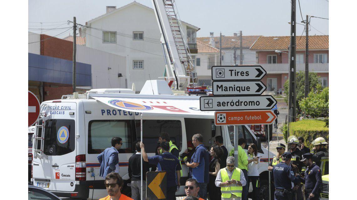 Una avioneta se estrelló en la ciudad de Tires