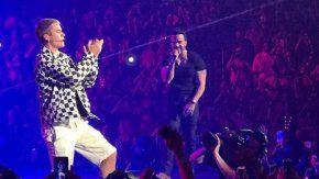 Justin Bieber con Luis Fonsi
