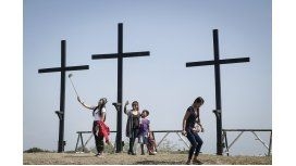 Crucifixión de Viernes Santo en Filipinas