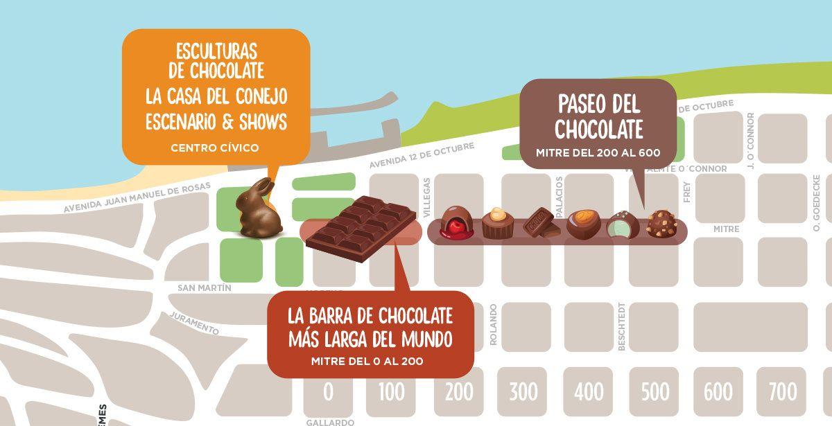 La barra de chocolate