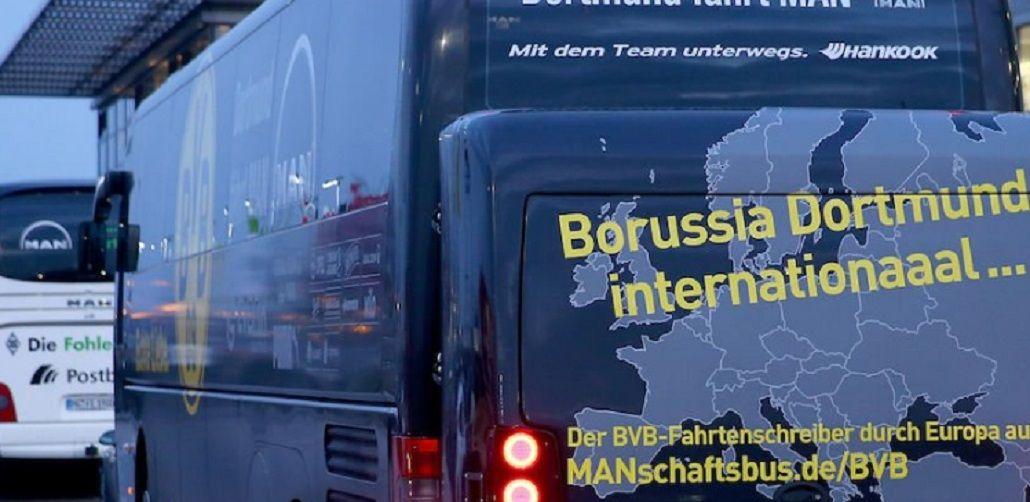 Explosión en el micro que del Borussia: se suspendió el partido ante Mónaco