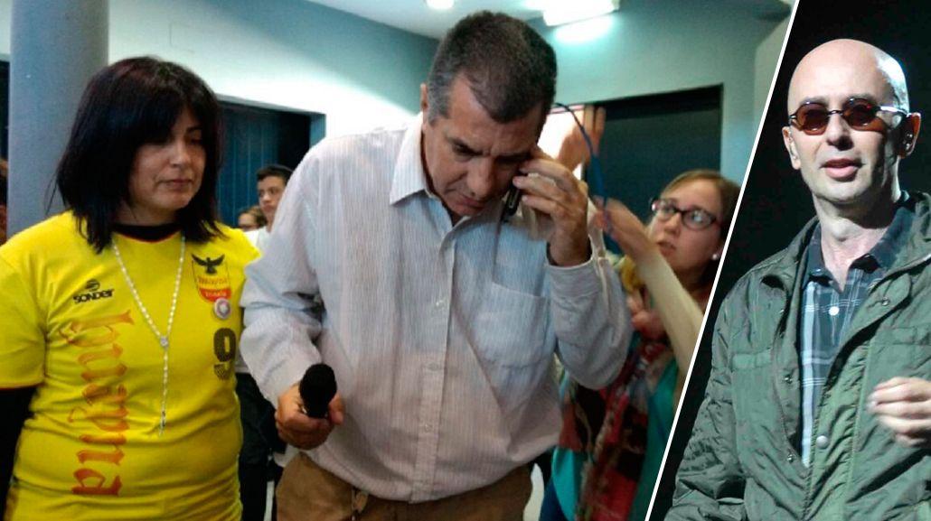 El Indio Solari llamó a la familia de Micaela García