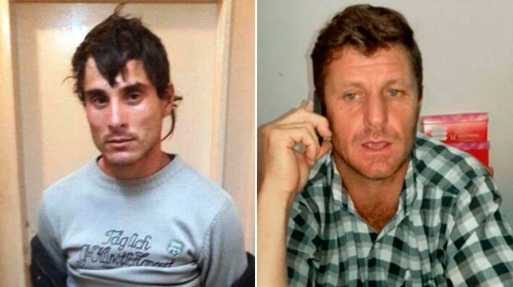 Los acusados Sebastián Wagnery a Néstor Pavón