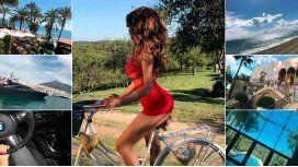 Charlotte Caniggia, de lujo en Marbella