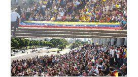 En Buenos Aires, venezolanos se manifestaron en contra de Nicolás Maduro