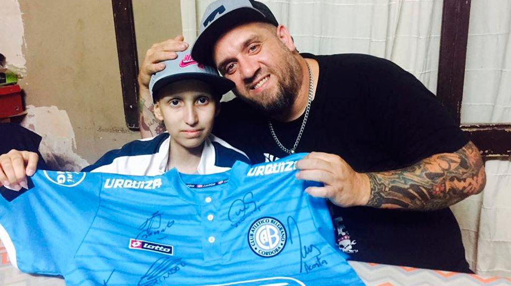 Matías irá a ver a por primera vez a Belgrano
