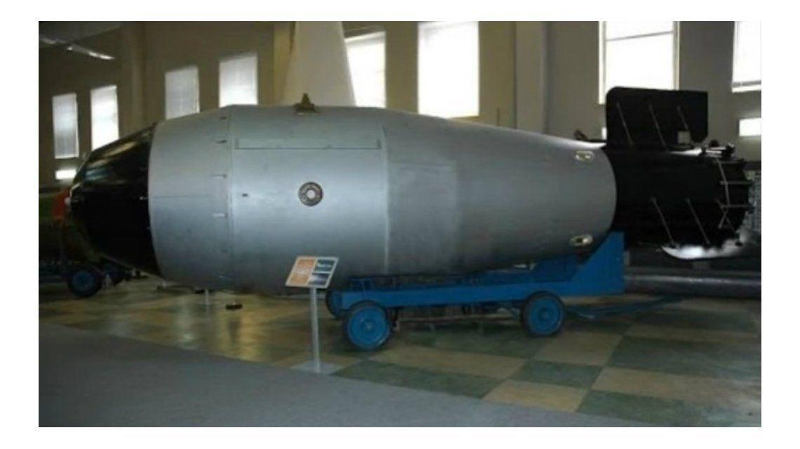 Desde Moscú aseguran que es el padre de todas las bombas