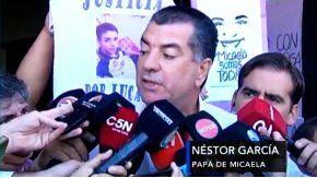 El mensaje del papá de Micaela a Mauricio Macri en medio del velorio