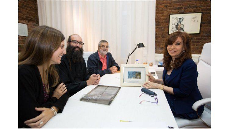 Cristina Kirchner junto a la Argentinala Cristinae