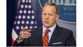 Sean Spicer, vocero de la Casa Blanca