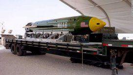 Unas 90 personas habrían muerto por la madre de todas las bombas